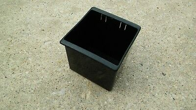 Volvo 240 242 244 245 Black center counsel storage cubby.