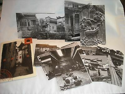 Set Of 12 Postcards Old Houses Traditional Chinese Dwelling Huizhou Style