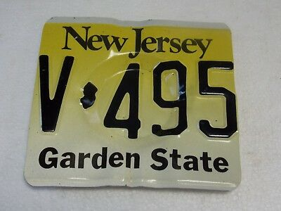 State of New Jersey License Plate Novelty Ashtray man cave