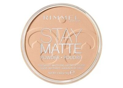 Rimmel Stay Matte Long Lasting Pressed Powder - Choose Your Shade - BRAND NEW