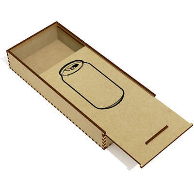 'Open Can' Wooden Pencil Case / Slide Top Box (PC00017506)