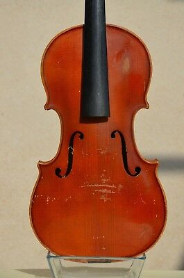 Old French violin to be repaired 1900s