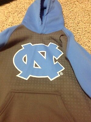 Youth UNC NC Tarheels sweatshirt size medium 10-12 blue and grey