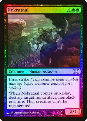 Execute FOIL 9th Edition NM Black Uncommon MAGIC THE GATHERING CARD ABUGames