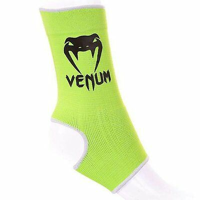 Venum Ankle Support Kontact Anklets Yellow Muay Thai MMA Kickboxing Protection