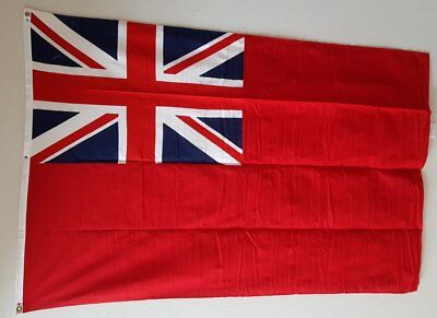 The British Red Ensign Flag - Paramount Flag Co - San Francisco Pre 1981