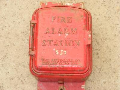 Vtg Fire Alarm Station Box Autocall Co.