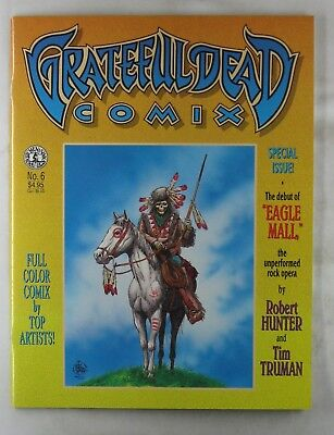 GRATEFUL DEAD COMIX #06 1992 Special Kitchen Sink Comic Eagle Mall Jerry Garcia