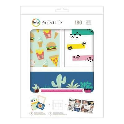 NEW Project Life Value Kit 180 pack - Wordless Wonder
