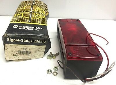Signal-Stat Lighting 528, Left Hand With Bulb, New, For Personal Trailer