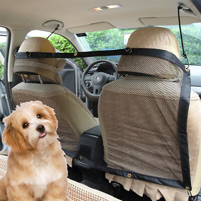 Pets Safety Barrier Cat Dog Puppy Kennel Safety Travel Mesh Pet for Car Driving