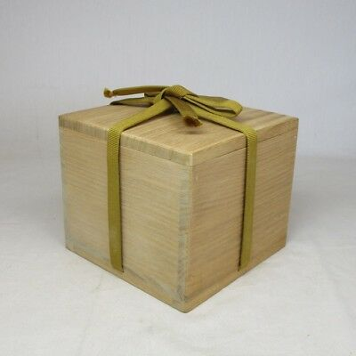 C636: Japanese wooden storage box for tea bowl or bowl made from KIRI.  1