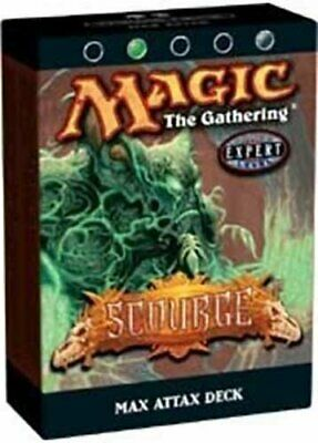 FACTORY SEALED NEW MAGIC ABUGames Darksteel Theme Deck Transference ENGLISH