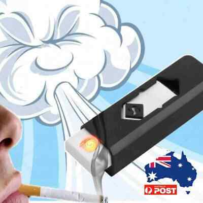 USB Rechargeable Coil Lighter Windproof Electric Cigarette Flameless Lighters