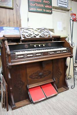 A Mason & Hamlin Antique Organ in Gorgeous Cabinet