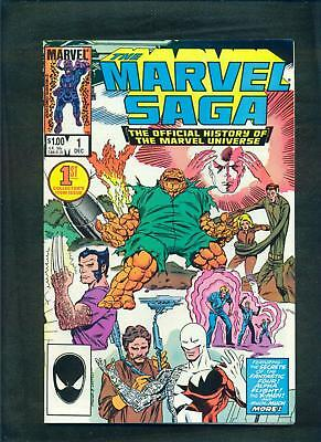 The Marvel Saga Official History of the Marvel Universe full set 1-25 1985/7