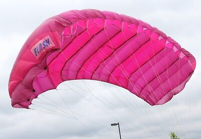 Paratec Flash 150 sq ft - 9 cell square hybrid skydiving parachute canopy