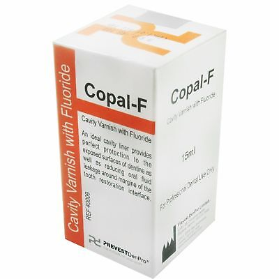 Cavity Varnish With Fluoride By Copal - F (15 ml) - Free Shipping Worldwide