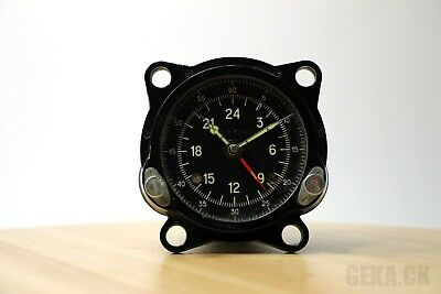 Good 55M (129ChS) Russian Military Air Force Cockpit Clock of Tupolev Bomber US