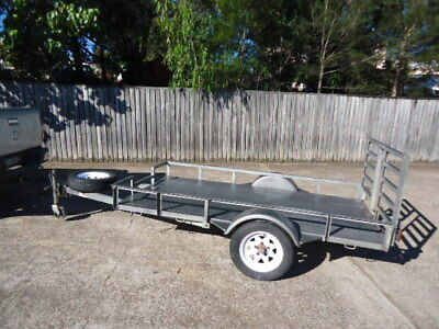 GOLF BUGGY / CART - Golf Cart Tilt Trailer - Good Condition