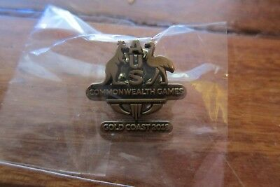 2018 Gold Coast Commonwealth Games Australia Pin NEW & SEALED