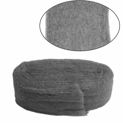 1Pc 3.3M Grade 0000 Steel Wire Wool For Polishing Cleaning Remover Non Crumble