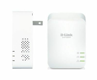 D-Link Dhp-601av Powerline Av2 1000 Gigabit Ethernet Starter Kit