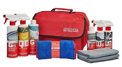 Gtechniq Essential Car Maintenance Kit - Bundle Of Car Cleaning Products
