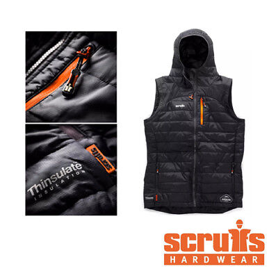 Scruffs Expedition Thermo 3M Gilet Black - Thinsulate - Bodywarmer (S-XXL)