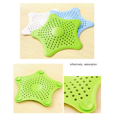 Drain Hair Stopper Cover Filter Sink Strainer Silicone Bath Kitchen Shower Use*1