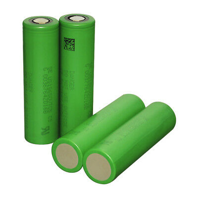 4 SONY VTC5 BATTERIA RICARICABILE 18650 2600mAh 3.7V Li-ion Authentic US18650VT5