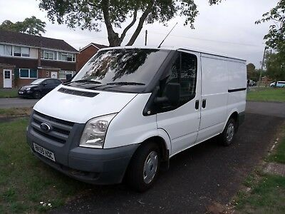 2009 59 Reg Ford Transit 85 T280M Fwd Van White No Vat To Pay
