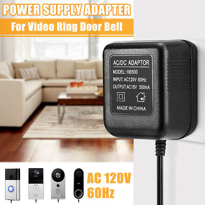 Power Supply Adapter Transformer With 5 Meters Wire For Video Ring Doorbell