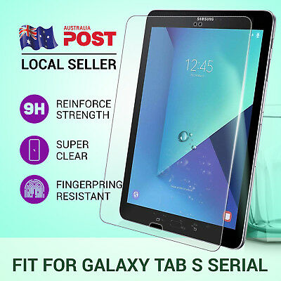 """Tempered Glass Screen Protector For Samsung Galaxy Tab S2 S3 3 8"""" 7"""" 10.5"""" 9.7"""""""