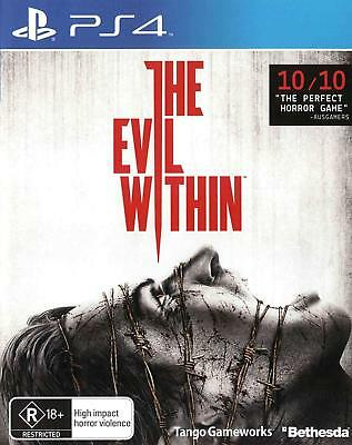 The Evil Within PS4 Playstation 4 Game Brand New In Stock FAST FREE POSTAGE
