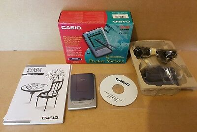 Casio Viewer 2Mb Pv-S250 Euro Conversion Microsoft Excel Outlook Pc Business
