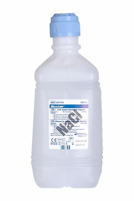 Baxter NaCl 0.9% Sodium Chloride (Saline) For Irrigation, One Litre (1000ml)