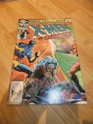 US Marvel Comic X-Men Issue 150 October 1981 double size magneto