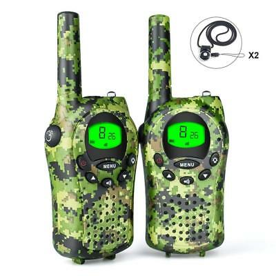 Debonice Walkie Talkies walki talki kinder und Outdoor-Reisen LC-Display VOX