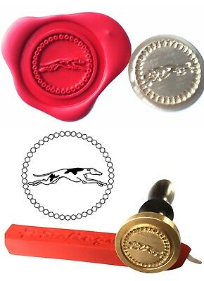 Pet Greyhound Dog Wax Stamp Seal Starter Kit / Buy the Coin Only XWS039B/XWSC144