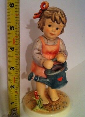 "RARE • SUMMER DELIGHT 6"" TALL GIRL ONLY 5,000 Hummel Goebel Porcelain Figurine"