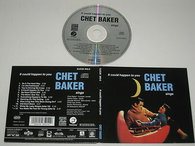 Chet Baker / It Could Happen to You Ojc20 303-2 CD Album