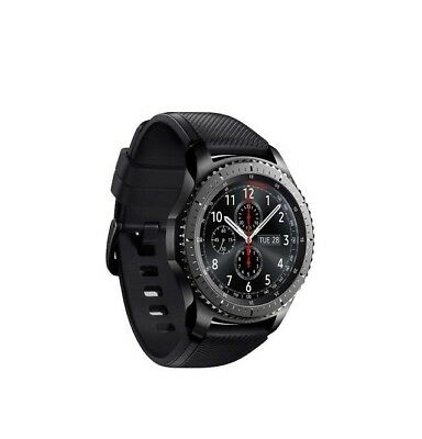 Samsung Gear S3 R760 Frontier Android Smartwatch Fitnesstracker Sportuhr Band