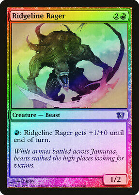 Sabretooth Tiger FOIL 8th Edition NM-M Red Common MAGIC GATHERING CARD ABUGames