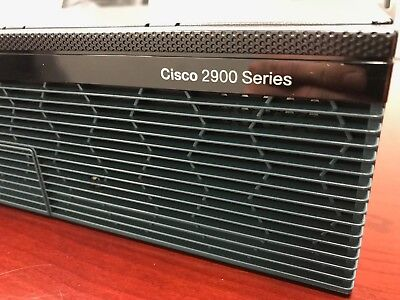 Cisco 2911 Router CISCO2911/K9 with VWIC3-4MFT-T1/E1 Voice Card