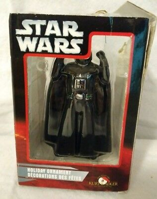 2006 Star Wars DARTH VADER Hand Crafted Holiday Christmas Ornament Lucas Films