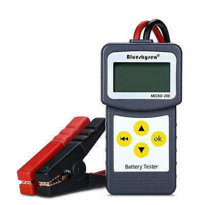 LANCOL MICRO-200 DC 12V Batterietester Analyse W/Drucker Funktion EFB/AGM/GEL RS