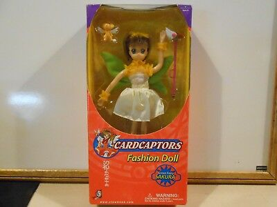 CardCaptors Fashion Doll Green Fairy Sakura NEW/SEALED (as seen on Kids WB)