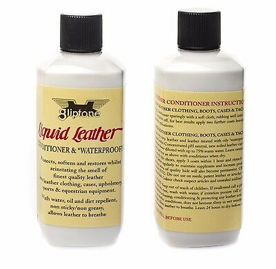 Gliptone Liquid Leather GT13 Conditioner And Waterproofer Leather Seats Car