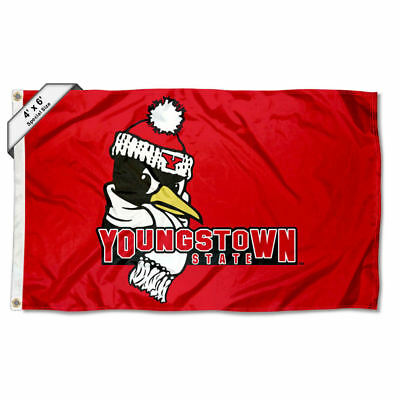 Youngstown State University 4x6 Flag